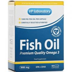 Омега-3 Fish oil 60кап. (VP lab)